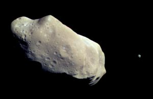 Asteroid 243 Ida and Dactyl