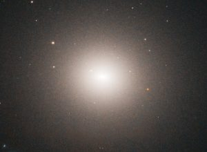 Elliptical galaxy NGC 4458