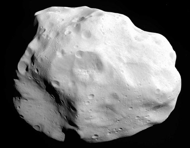 Asteroid 21 Lutetia