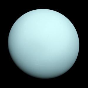 The planet Uranus