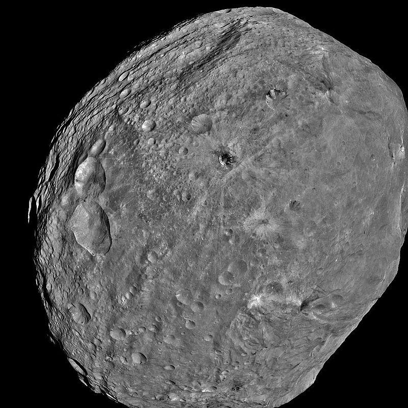 Asteroid 4 Vesta