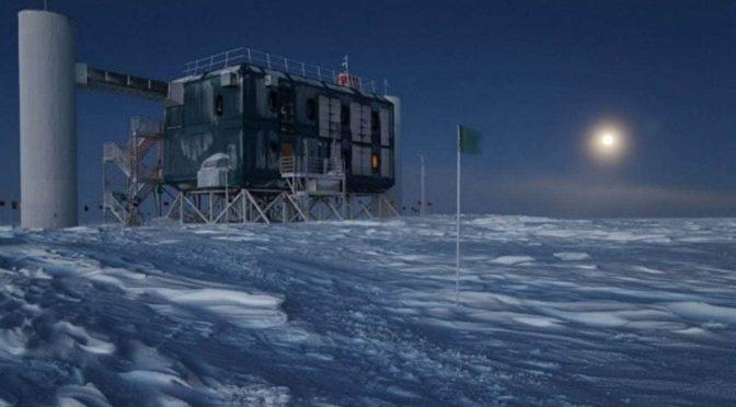 IceCube neutrino detector