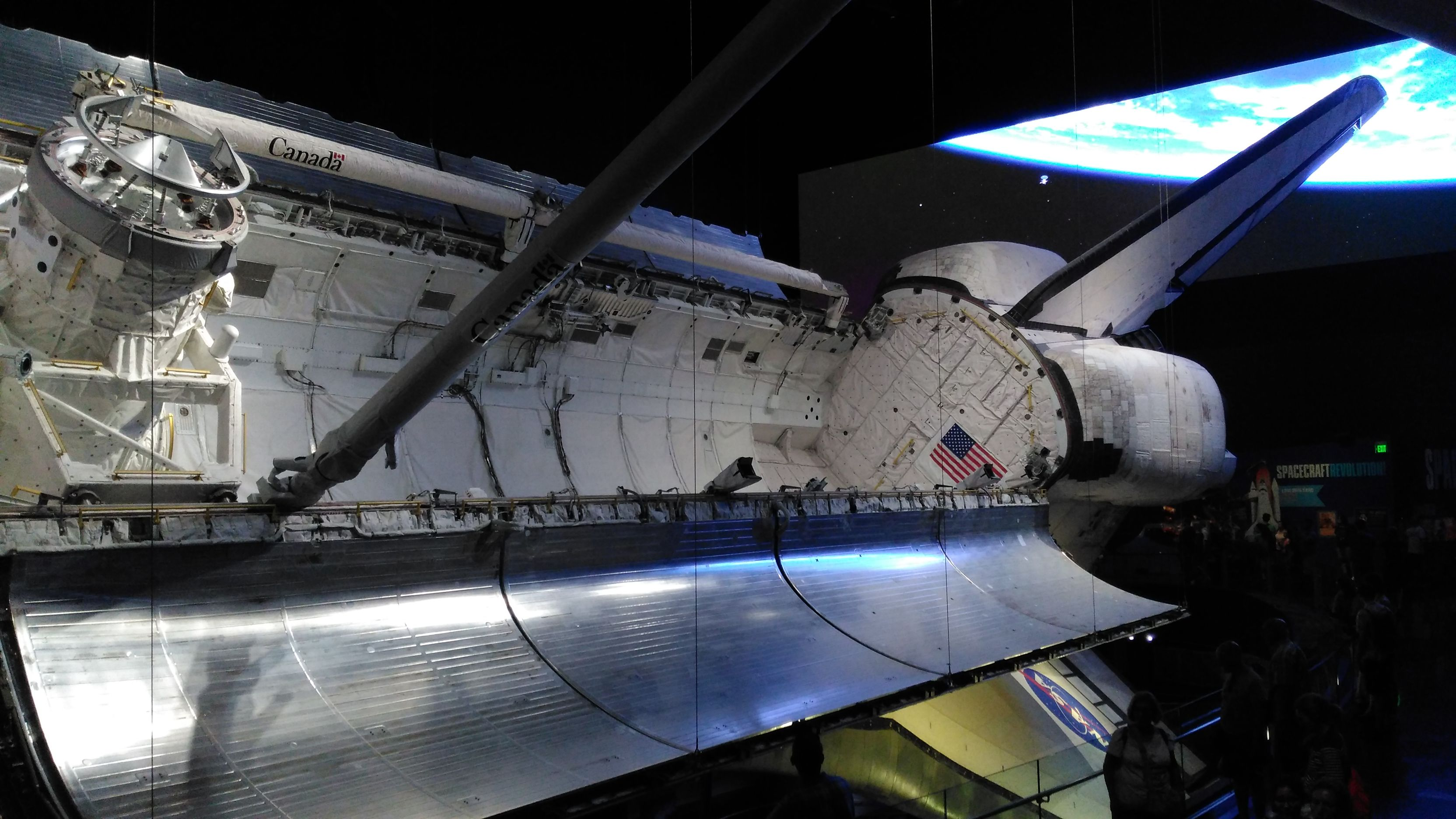 Space Shuttle Doors