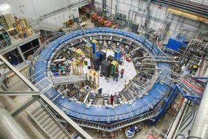 Magnetic storage ring at Fermilab